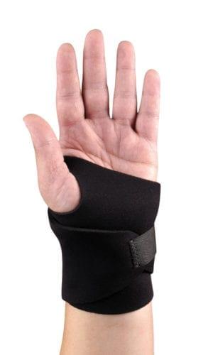 A Hand wearing Hely & Weber Wristlet Neoprene Wrapping