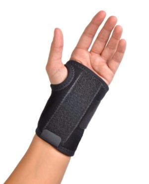 Hand wearing a Hely & Weber Gel Wrist Wrap