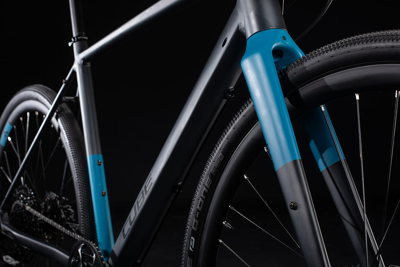 Cube SL Road Pro 2020 Iridium 'n' Blue - Frame