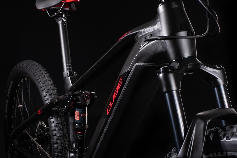 Cube Stereo Hybrid Pro 120 500 29er 2020 Black 'n' Red - Fork