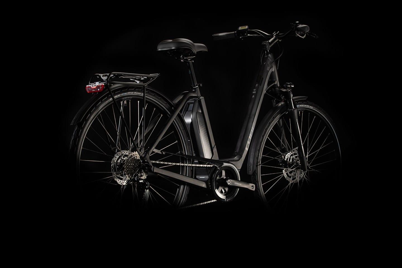 Cube Town Sport Hybrid One 400 2020 Bike in Black 'n' Grey