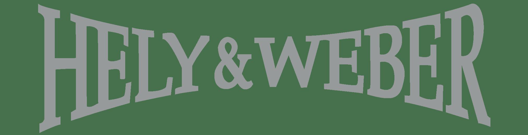 Hely & Weber Logo in Grey